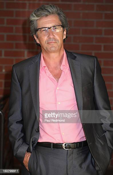Actor Charles Shaughnessy arrives at the official private table read of 'The Bay' Season 3 on August 14 2012 in Los Angeles California