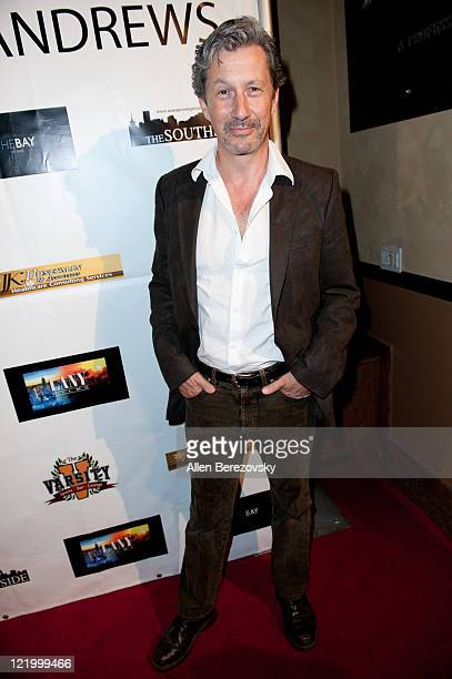 Actor Charles Shaughnessy attends the surprise 21st birthday bash for Kristo Andrews at the Varsity Sports Bar on August 24 2011 in Los Angeles...
