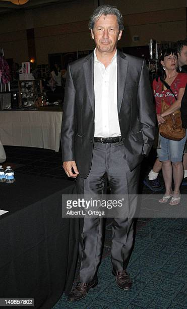 Actor Charles Shaughnessy participates in The Hollywood Show held at Burbank Airport Marriott Hotel Convention Center on August 5 2012 in Burbank...