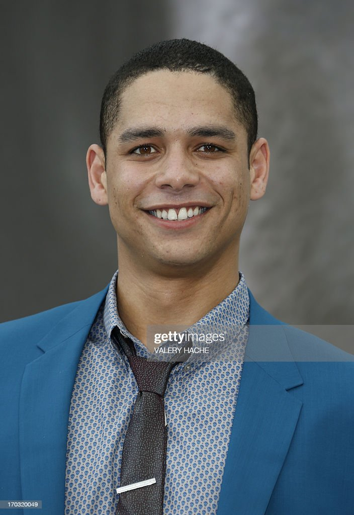 Us Actor Charlie Barnett Poses During A Photocall For The