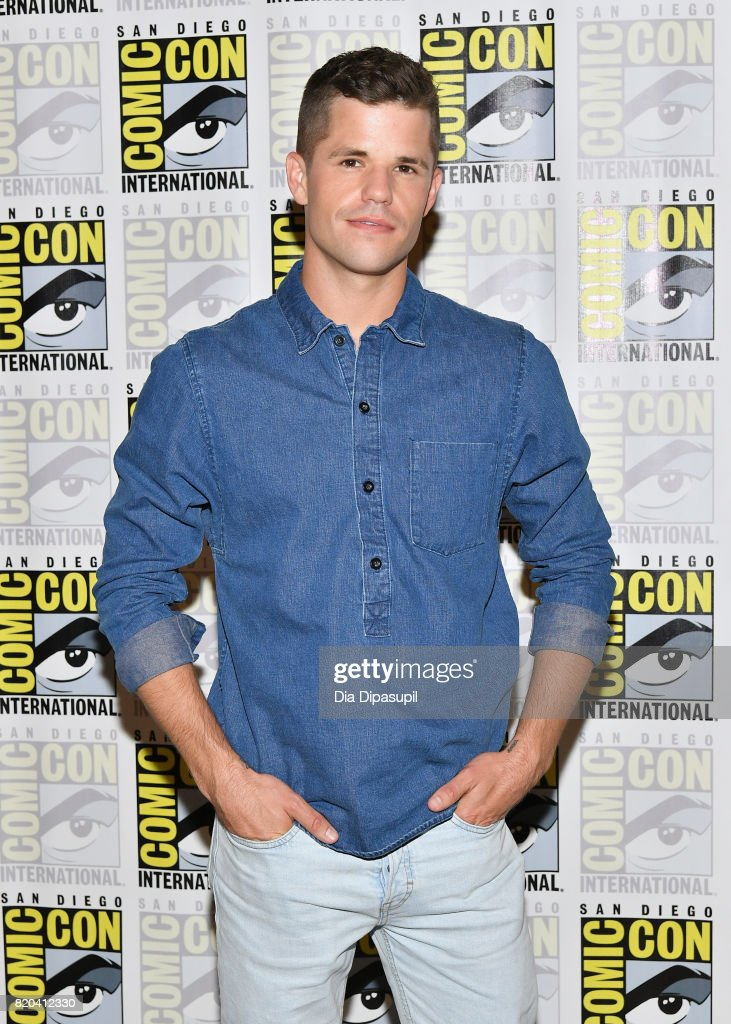 Actor Charlie Carver at the 'Teen Wolf' Press Line during Comic-Con International 2017 at Hilton Bayfront on July 21, 2017 in San Diego, California.