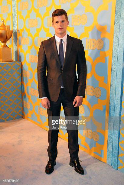 Actor Charlie Carver attends HBO's post Golden Globe Awards party at The Beverly Hilton Hotel on January 11 2015 in Beverly Hills California