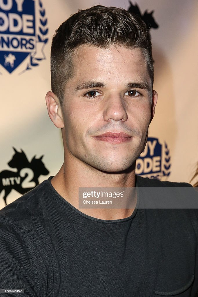 Actor Charlie Carver attends MTV2 Party in The Park at Comic-con International 2013 at PETCO Park on July 18, 2013 in San Diego, California.
