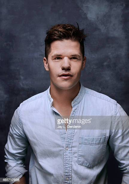 Actor Charlie Carver is photographed for Los Angeles Times at the 2015 Sundance Film Festival on January 24 2015 in Park City Utah PUBLISHED IMAGE...