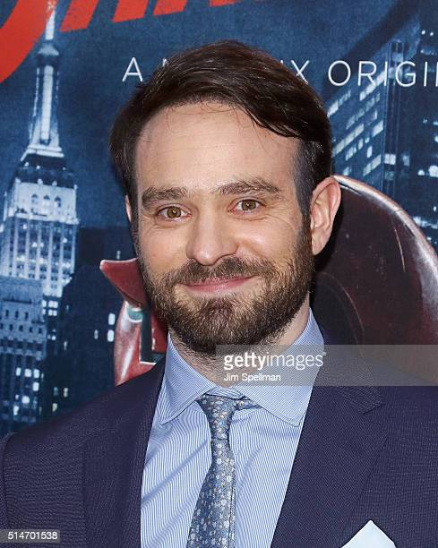 Actor Charlie Cox attend the 'Daredevil' season 2 premiere at AMC Loews Lincoln Square 13 theater on March 10 2016 in New York City