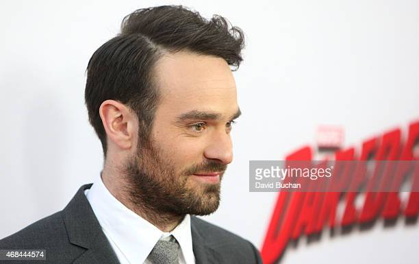 Actor Charlie Cox attends the premiere of Netflix's 'Marvel's Daredevil' at Regal Cinemas LA Live on April 2 2015 in Los Angeles California