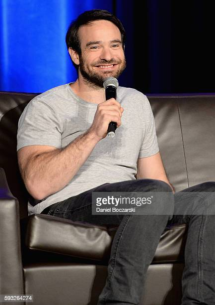 Actor Charlie Cox speaks onstage during Wizard World Comic Con Chicago 2016 Day 4 at Donald E Stephens Convention Center on August 21 2016 in...
