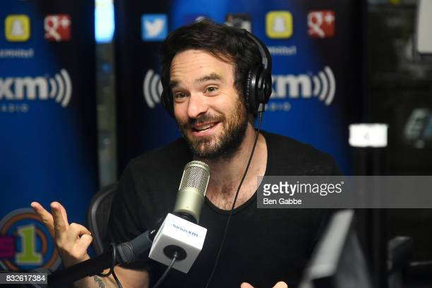 Actor Charlie Cox visits 'The Morning Mash Up' on SiriusXM Hits 1 Channel at SiriusXM Studios on August 16 2017 in New York City