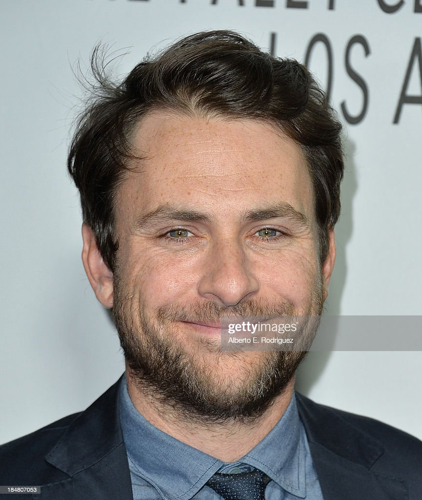 Actor <a gi-track='captionPersonalityLinkClicked' href=/galleries/search?phrase=Charlie+Day&family=editorial&specificpeople=537731 ng-click='$event.stopPropagation()'>Charlie Day</a> arrives at The Paley Center for Media's 2013 benefit gala honoring FX Networks with the Paley Prize for Innovation & Excellence at Fox Studio Lot on October 16, 2013 in Century City, California.