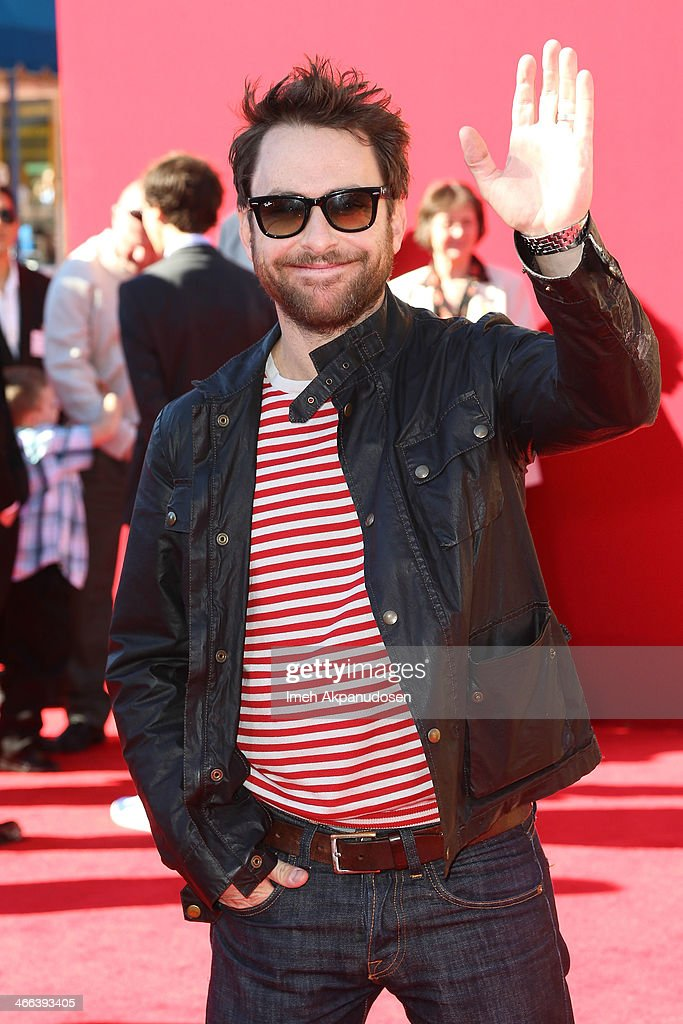 Actor <a gi-track='captionPersonalityLinkClicked' href=/galleries/search?phrase=Charlie+Day&family=editorial&specificpeople=537731 ng-click='$event.stopPropagation()'>Charlie Day</a> attends the premiere of 'The LEGO Movie' at Regency Village Theatre on February 1, 2014 in Westwood, California.
