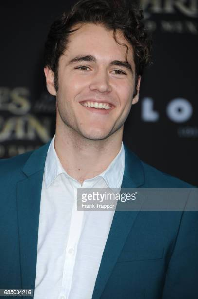 Actor Charlie DePew arrives at the premiere of Disney's 'Pirates of the Caribbean Dead Men Tell No Tales' at the Dolby Theatre on May 18 2017 in...