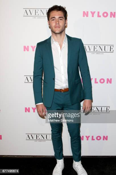 Actor Charlie DePew attends NYLON's Annual Young Hollywood May Issue Event at Avenue on May 2 2017 in Los Angeles California