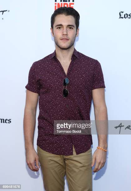 Actor Charlie DePew attends the screening of 'The Bachelors' during the 2017 Los Angeles Film Festival at Arclight Cinemas Culver City on June 20...
