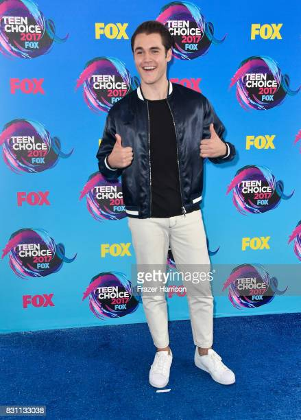 Actor Charlie DePew attends the Teen Choice Awards 2017 at Galen Center on August 13 2017 in Los Angeles California
