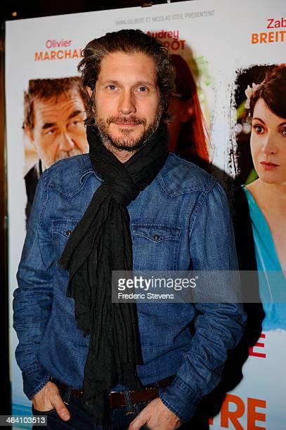 Actor Charlie Dupont attends the 'Belle Comme La Femme D'un Autre' Paris Premiere At UGC Bercy on January 20 2014 in Paris France