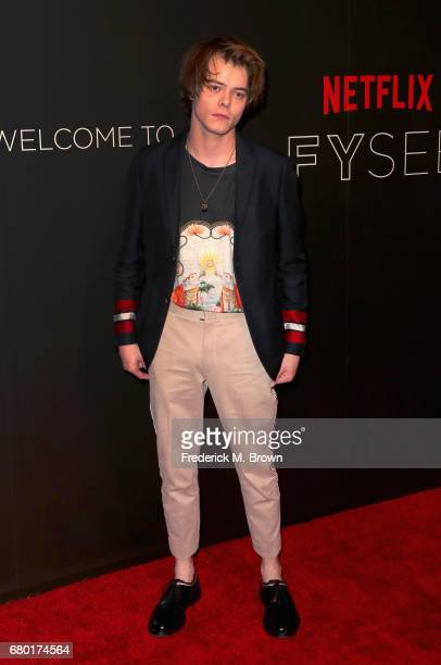 Actor Charlie Heaton arrives at the Netflix FYSee Kick Off Event at Netflix FYSee Space on May 7 2017 in Beverly Hills California