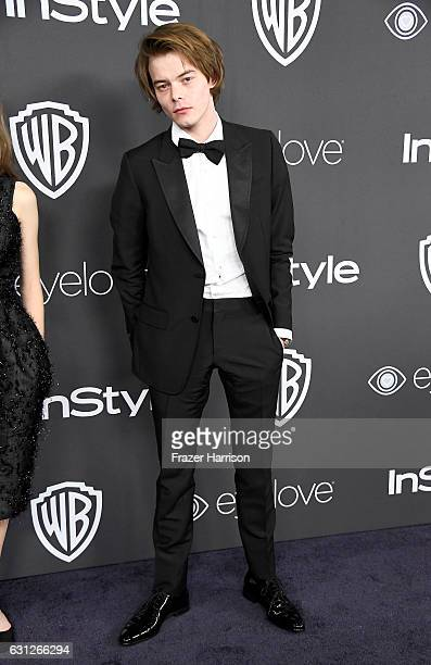 Actor Charlie Heaton attends the 18th Annual PostGolden Globes Party hosted by Warner Bros Pictures and InStyle at The Beverly Hilton Hotel on...