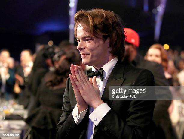 Actor Charlie Heaton during The 23rd Annual Screen Actors Guild Awards at The Shrine Auditorium on January 29 2017 in Los Angeles California 26592_012