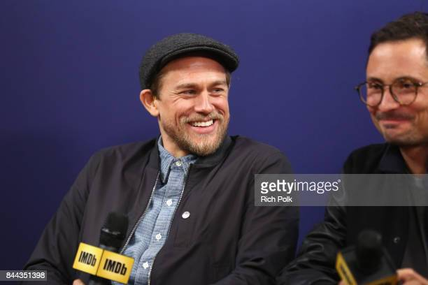 Actor Charlie Hunnam and director Michael Noer of 'Papillon' attend The IMDb Studio Hosted By The Visa Infinite Lounge at The 2017 Toronto...