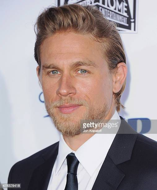 Actor Charlie Hunnam arrives at FX's 'Sons Of Anarchy' Premiere at TCL Chinese Theatre on September 6 2014 in Hollywood California