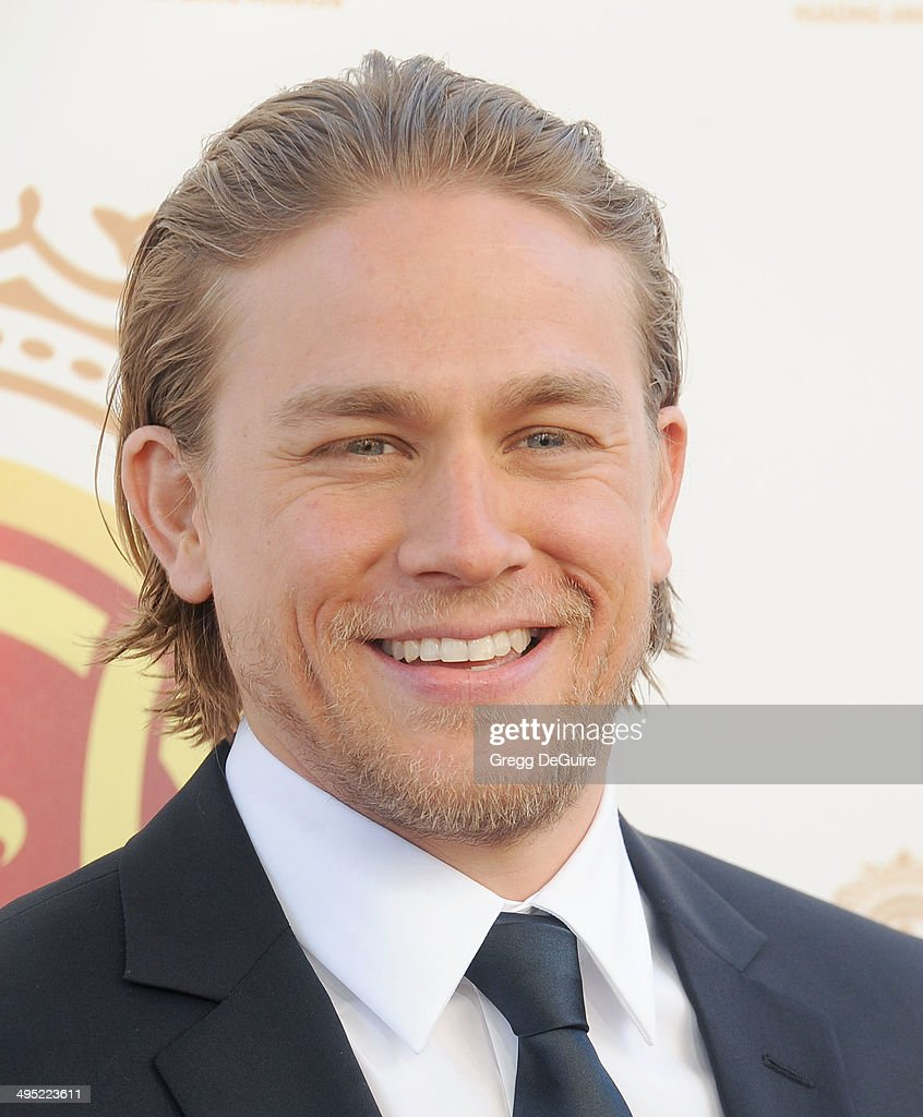 Actor <a gi-track='captionPersonalityLinkClicked' href=/galleries/search?phrase=Charlie+Hunnam&family=editorial&specificpeople=223913 ng-click='$event.stopPropagation()'>Charlie Hunnam</a> arrives at the 2014 Huading Film Awards at The Montalban Theater on June 1, 2014 in Hollywood, California.