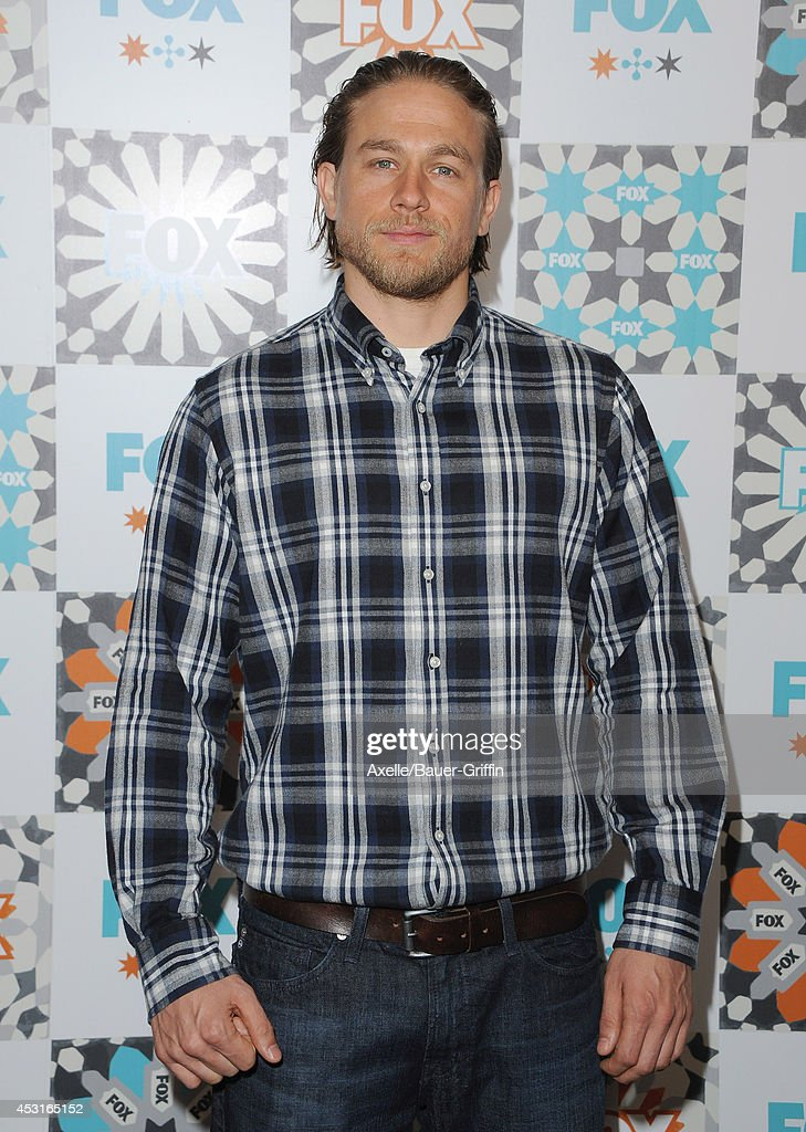 Actor <a gi-track='captionPersonalityLinkClicked' href=/galleries/search?phrase=Charlie+Hunnam&family=editorial&specificpeople=223913 ng-click='$event.stopPropagation()'>Charlie Hunnam</a> arrives at the FOX All-Star Party 2014 Television Critics Association Summer Press Tour at Soho House on July 20, 2014 in West Hollywood, California.