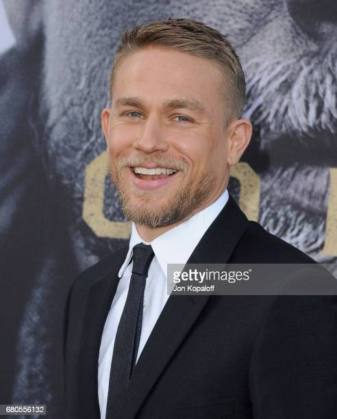 Actor Charlie Hunnam arrives at the Los Angeles Premiere 'King Arthur Legend Of The Sword' at TCL Chinese Theatre on May 8 2017 in Hollywood...