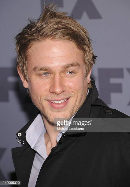 Actor Charlie Hunnam attends the 2012 FX Ad Sales Upfront at Lucky Strike on March 29 2012 in New York City