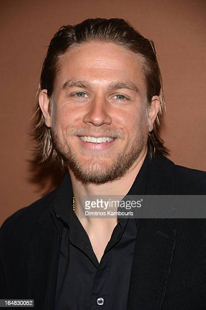 Actor Charlie Hunnam attends the 2013 FX Upfront Bowling Event at Luxe at Lucky Strike Lanes on March 28 2013 in New York City