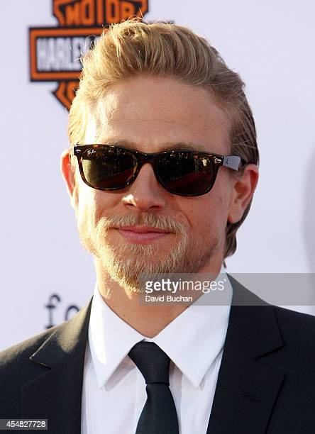 Actor Charlie Hunnam attends the premiere screening of FX's 'Sons Of Anarchy' at TCL Chinese Theatre on September 6 2014 in Hollywood California