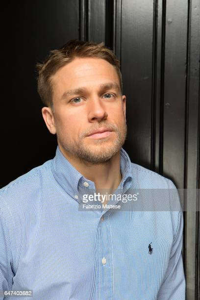Actor Charlie Hunnam is photographed for The Hollywood Reporter on February 13 2017 in Berlin Germany