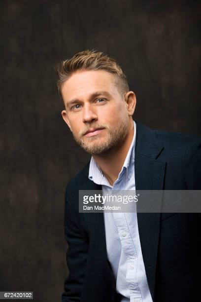 Actor Charlie Hunnam is photographed for USA Today on April 13 2017 in Los Angeles California PUBLISHED IMAGE