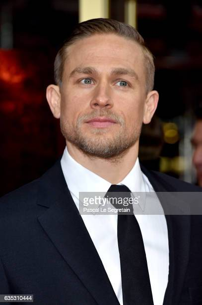 Actor Charlie Hunnam wearing Prada attends the 'The Lost City of Z' premiere during the 67th Berlinale International Film Festival Berlin at Zoo...