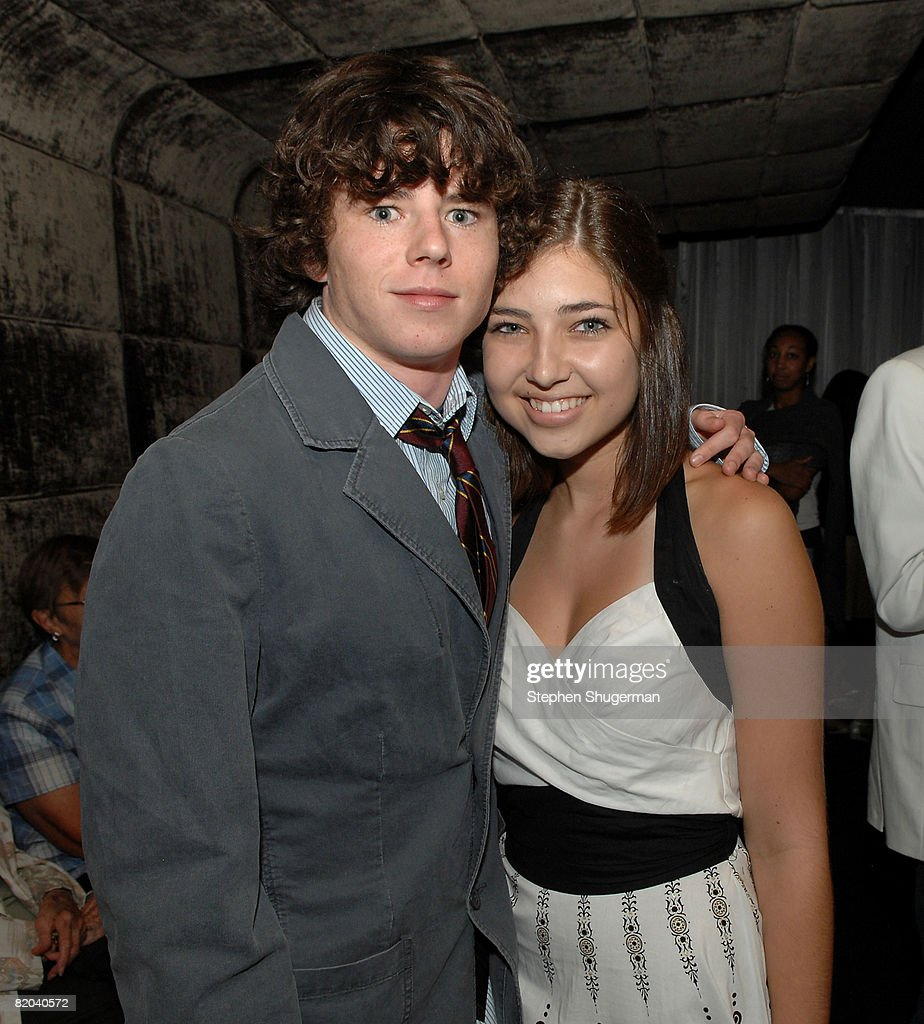 Actor Charlie McDermott and Shelby Young attend the after party following the premiere of Sony Pictures Classics' 'Frozen River' at the Pacific Design Center on July 22, 2008 in West Hollywood, California.