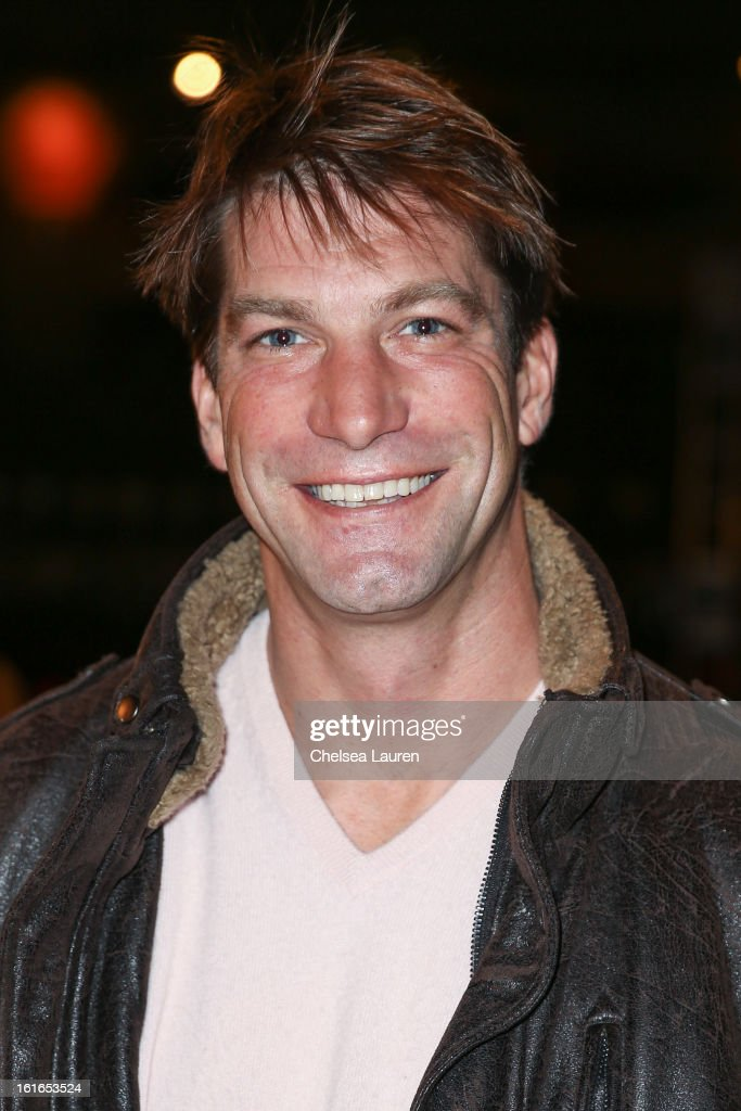Actor Charlie O'Connell attends the Philosophy By Natalie Ratabesi fall 2013 fashion show during Mercedes-Benz Fashion Week at Roseland Ballroom on February 13, 2013 in New York City.