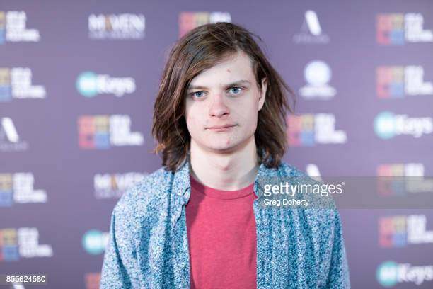 Actor Charlie Tahan arrives for the DTLA Film Festival Premiere Of The Orchard's 'Super Dark Times' at Regal 14 at LA Live Downtown on September 25...