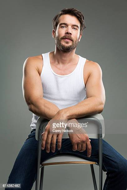 Actor Charlie Weber is photographed for Spec on August 28 2015 in Los Angeles California