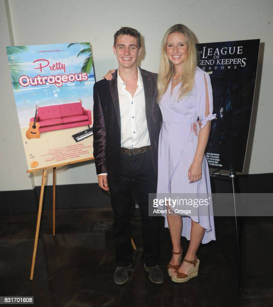 Actor Charlie Wright and sister Millie Wright attend the Screening Of 'Pretty Outrageous' And 'The League Of Legend Keepers' held at ArcLight Cinemas...