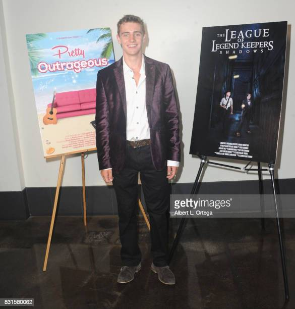 Actor Charlie Wright attends the Screening Of 'Pretty Outrageous' And 'The League Of Legend Keepers' held at ArcLight Cinemas on August 14 2017 in...