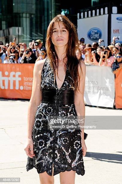 Actor Charlotte Gainsbourg attends the premiere of Samba at Roy Thomson Hall on September 7 2014 in Toronto Canada