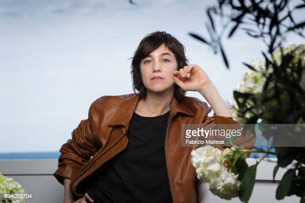 Actor Charlotte Gainsbourg is photographed for the Hollywood Reporter on May 18 2017 in Cannes France