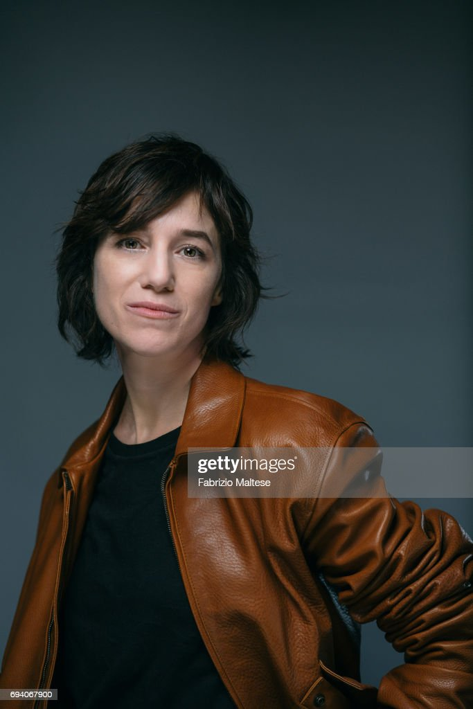 Actor Charlotte Gainsbourg is photographed for the Hollywood Reporter on May 18, 2017 in Cannes, France.