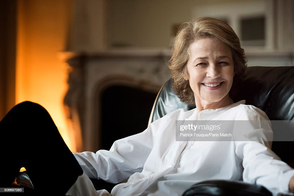 Charlotte Rampling, Paris Match Issue 3479, January 27, 2016