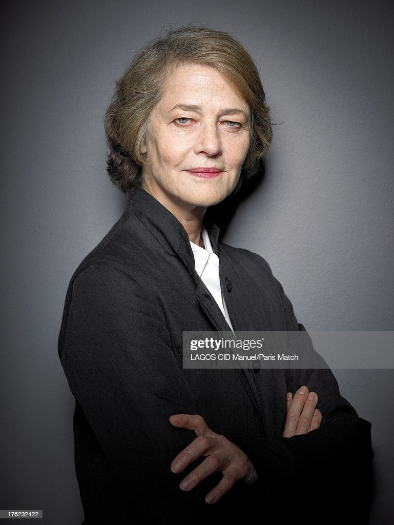 Actor <a gi-track='captionPersonalityLinkClicked' href=/galleries/search?phrase=Charlotte+Rampling&family=editorial&specificpeople=212770 ng-click='$event.stopPropagation()'>Charlotte Rampling</a> is photographed for Paris Match on June 19, 2013 in Paris, France.
