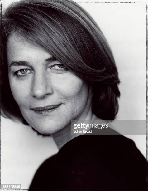 Actor Charlotte Rampling is photographed in London England