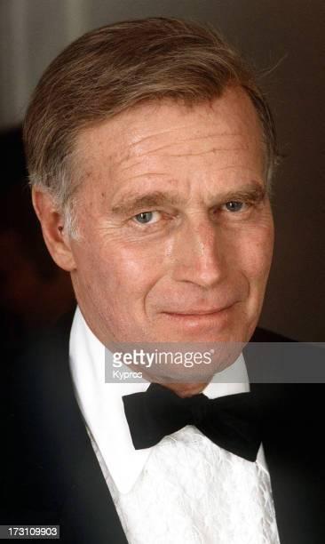 Actor Charlton Heston circa 1990