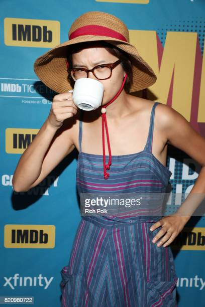 Actor Charlyne Yi on the #IMDboat at San Diego ComicCon 2017 at The IMDb Yacht on July 22 2017 in San Diego California