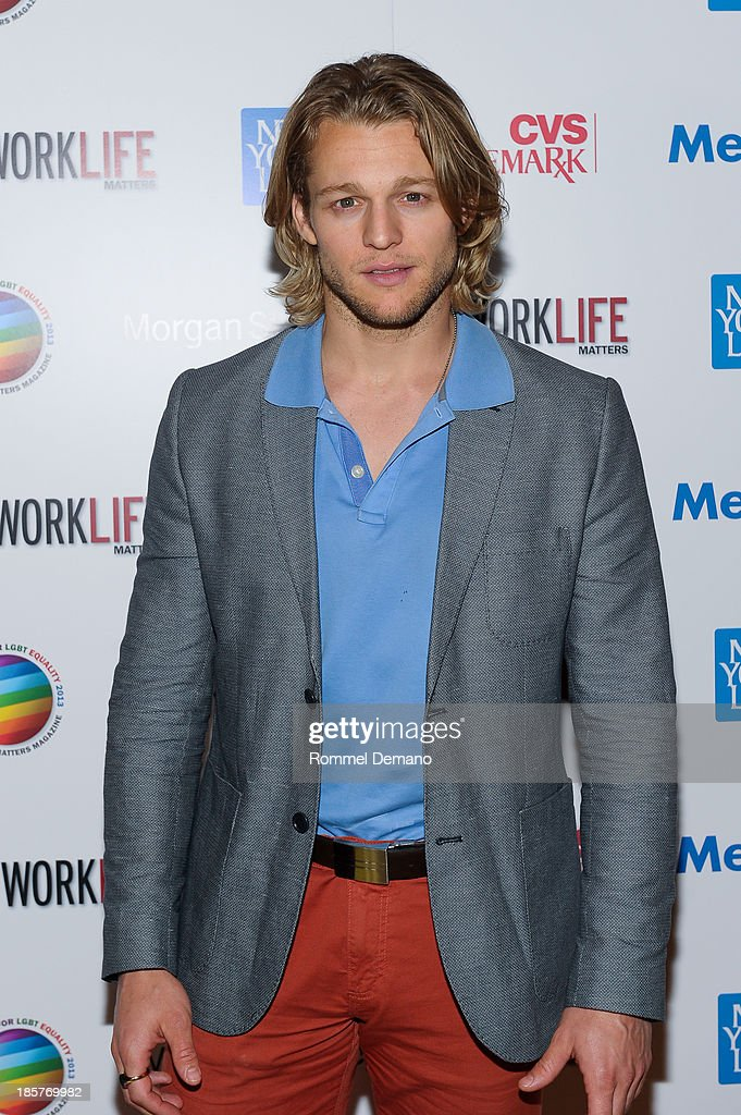 Actor Chase Coleman attends the 11th Annual Work Life Matters gala at Club 101 on October 24, 2013 in New York City.