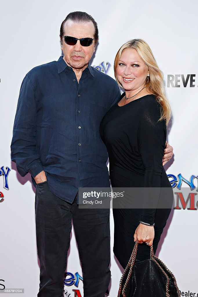 Actor <a gi-track='captionPersonalityLinkClicked' href=/galleries/search?phrase=Chazz+Palminteri&family=editorial&specificpeople=211446 ng-click='$event.stopPropagation()'>Chazz Palminteri</a> and wife, actress <a gi-track='captionPersonalityLinkClicked' href=/galleries/search?phrase=Gianna+Ranaudo&family=editorial&specificpeople=627934 ng-click='$event.stopPropagation()'>Gianna Ranaudo</a>, a.k.a. Gianna Rains attend the 'Henry & Me' New York Premiere at Ziegfeld Theatre on August 18, 2014 in New York City.