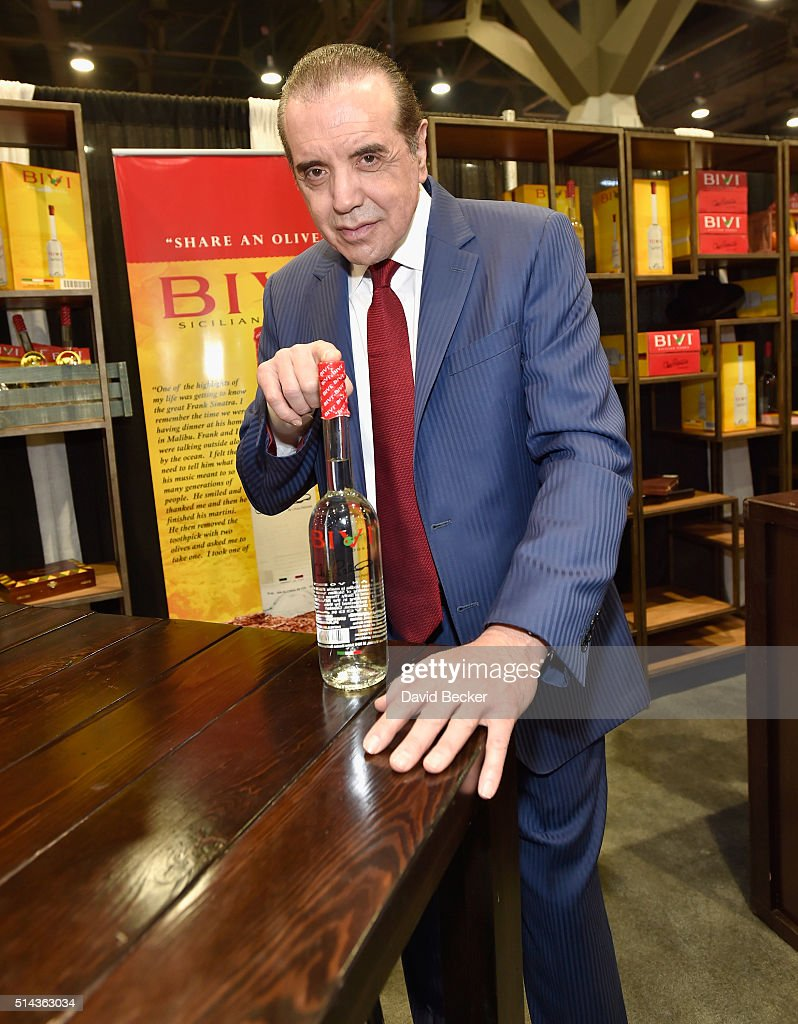 Actor Chazz Palminteri attends the 31st annual Nightclub Bar Convention and Trade Show on March 8 2016 in Las Vegas Nevada
